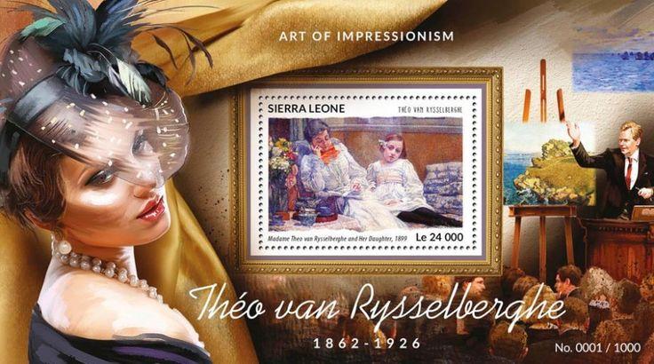 SRL15414b Théo van Rysselberghe (Madame Theo van Rysselberghe and Her Daughter, 1899)