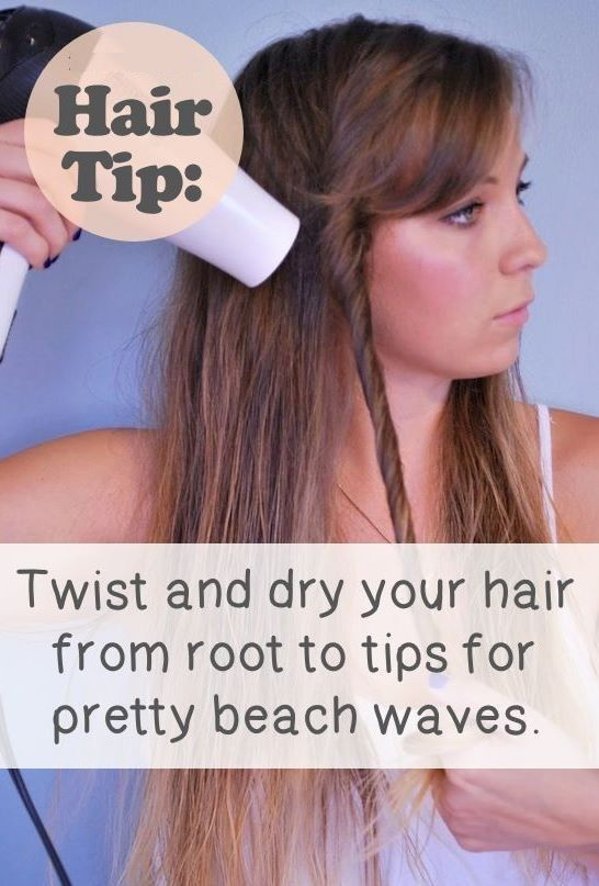 How to easily get beach waves!