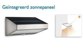 Greenhouse buiten wandlamp Solar + bewegingssensor - MijnDuurzaamRendement Warmtepomp Arnhem Gelderland
