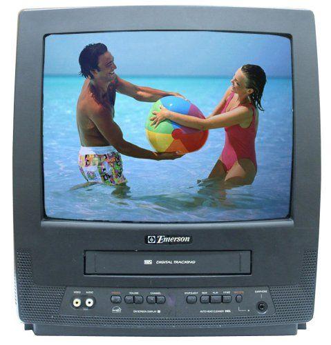 Emerson EWC1303 13-Inch TV/VCR Combo  for more details visit :http://tv.megaluxmart.com/