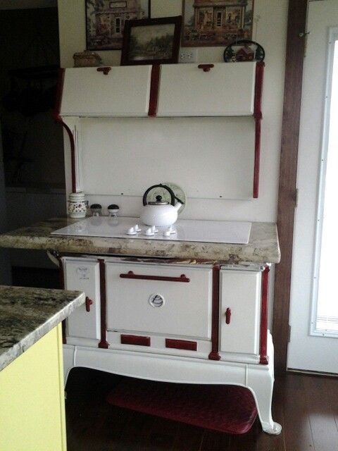 Refurbished Vintage Electric Stoves ~ Best images about old wood cooking on pinterest ovens