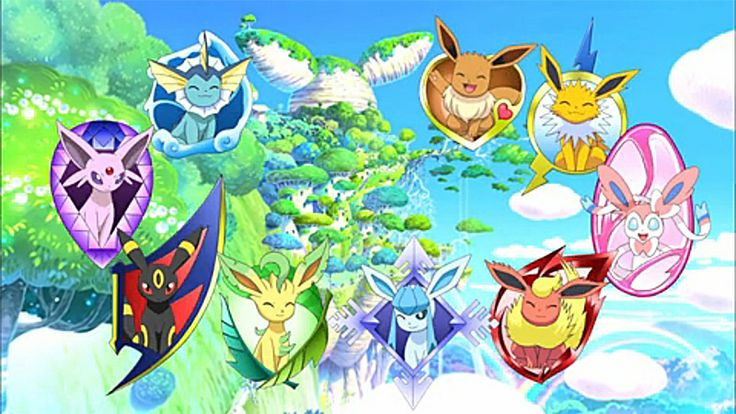 Since Pokemon: Eevee and Friends is out on Pokemon TV, which Eevee evolution is your favorite?  Vaporeon, Espeon, Umbreon, Leafeon, Glaceon, Flareon, Sylveon or Jolteon? Or do you prefer Eevee overall?