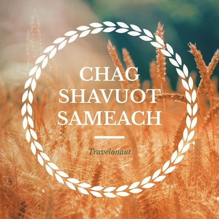 Chag #Shavuot sameach to all my #Jewish pals!