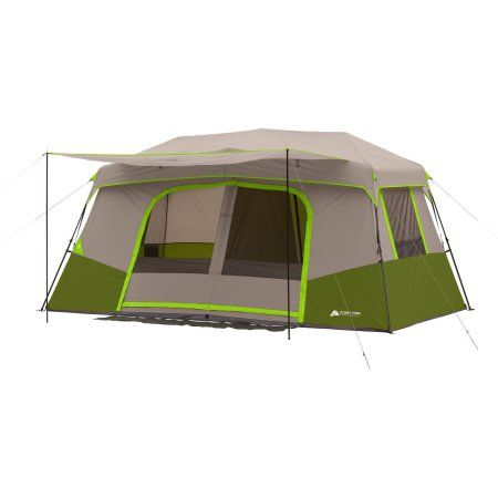 Ozark Trail 11 Person Instant Cabin Tent With Private Room Walmart Com In 2021 Cabin Tent Cabin Camping Tent