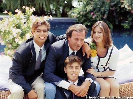 Enrique Iglesias family
