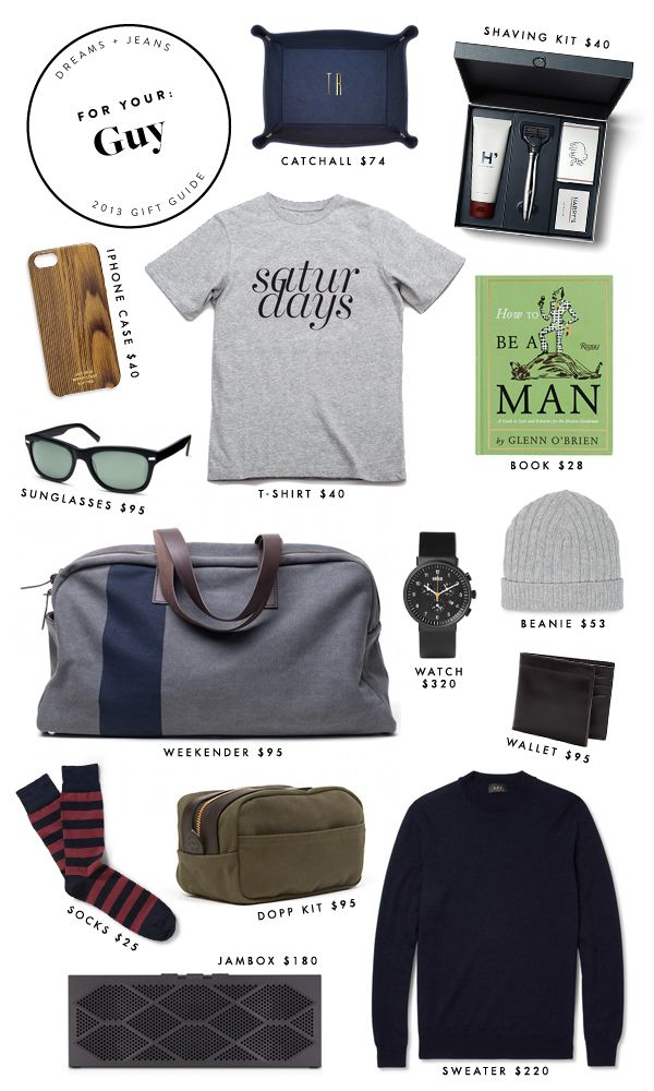 Next up: gifts for your guy! Whether for your boyfriend, brother, husband, best guy friend or y...