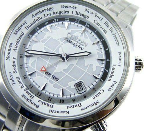 0d15926a9f0e9a CITIZEN Eco-Drive Atlas Dial Sapphire Glass GMT Worldtime! | CİTİZEN
