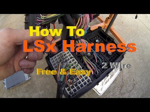 Video: How-To On Wiring An Electrical Harness For A LS Swap