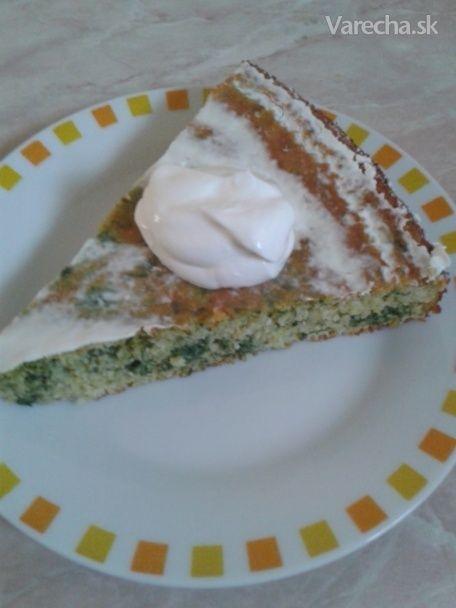 Špenátový koláč z kukuričnej múky (fotorecept)