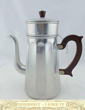 M32 Kaffee Tee Kanne 2L Kaffeebereiter 2 Siebe Aluminium Menesa Alu coffee pot