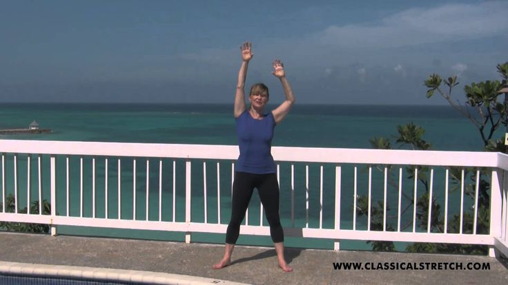 Classical Stretch mini workout to slenderize waist
