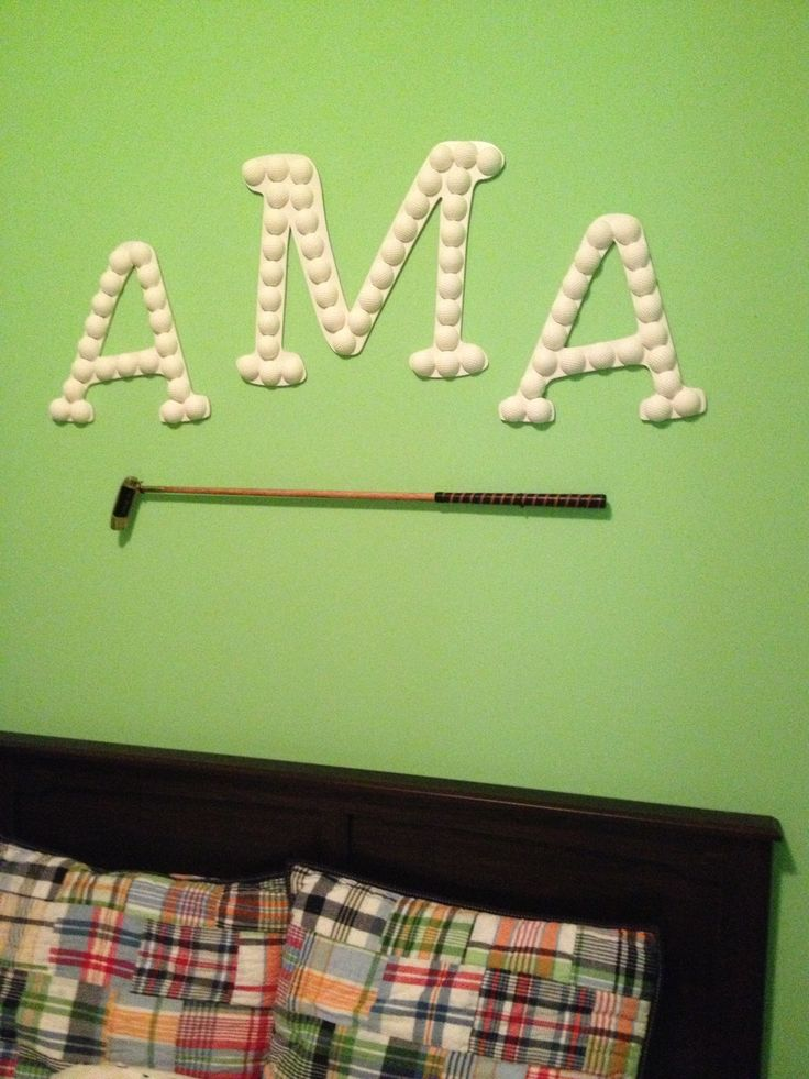 1000 images about golf boys bedroom ideas on pinterest - Mattress made of balls ...
