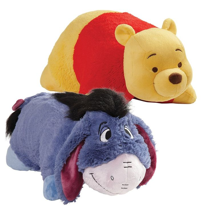 "16"" Winnie the Pooh Combo Pack Pooh & Eeyore Yellow"