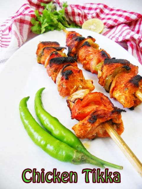 Quick Skinny Skillet Chicken Tikka (Restaurant Style)....learn how to make Punjabi Dhaba Style Tikka, at home on a skillet...so easy and quick with my step by step pictures.
