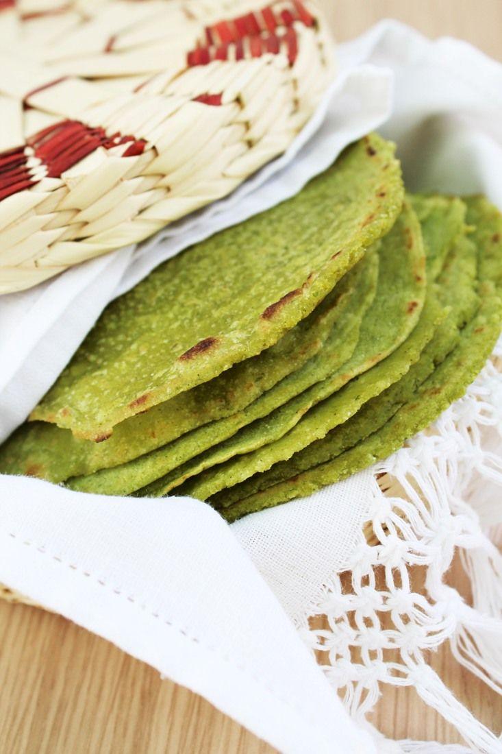 Tortillas de Nopal (Cactus Tortillas)
