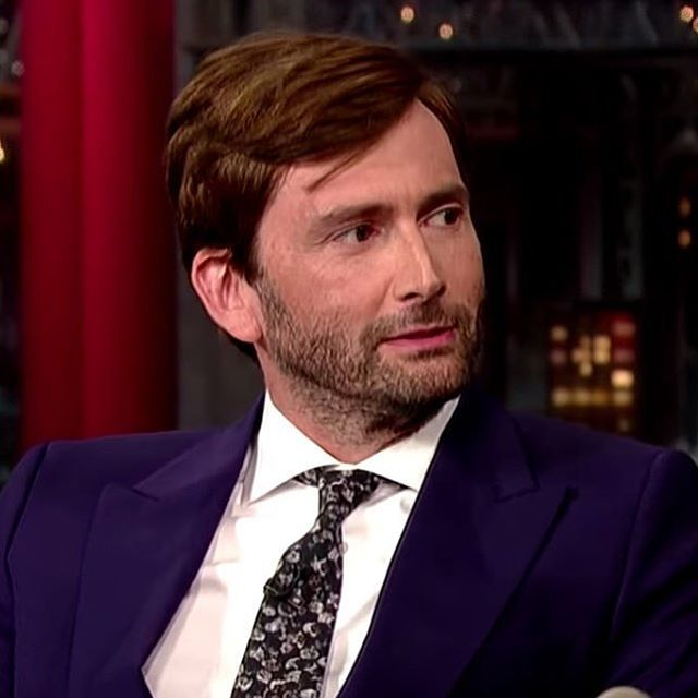PHOTO OF THE DAY - 13th April 2016:  #DavidTennant on The David Letterman Show (2014)  #photooftheday