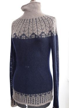 Ravelry: liselottez's Qiviut & Cashmere Sweater and Beanie