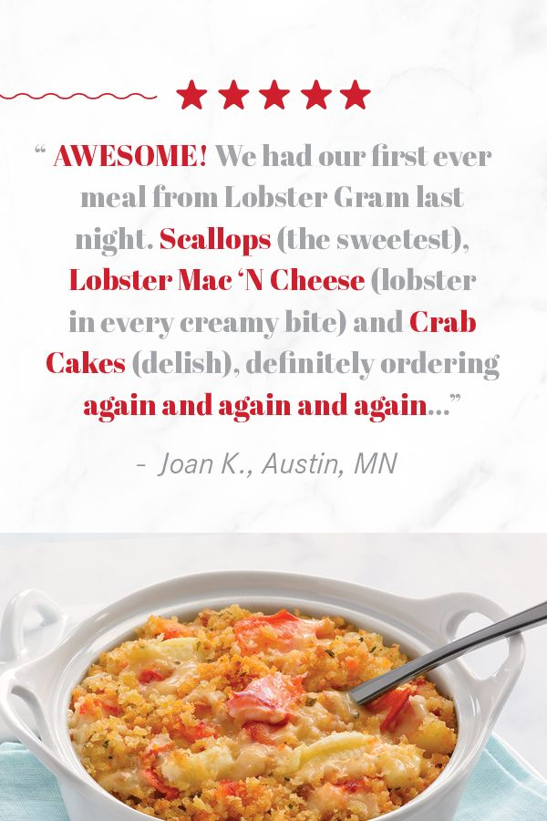 A Few Kind Words About Some Of Our Lobster Gram Classics In 2020 Seafood Dinner Live Lobster Fresh Lobster