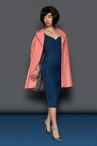 BLACK FRIDAY SALE: The Peggy Dress - Blue | Tara Starlet