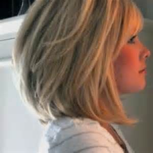 I'm thinking of this cut. Maybe a darker color ♥ Medium Length Stacked Bob Pics | Short Hairstyle 2013