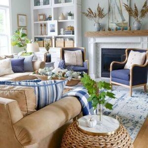 35 Cozy Diy Living Room Design And Decor Ideas Doityourzelf Fall Living Room Coastal Decorating Living Room Living Room Paint