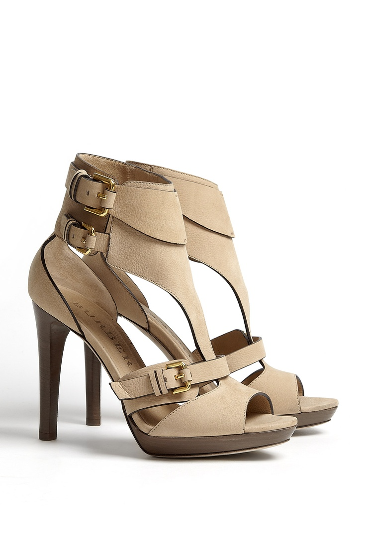 Burberry Shoes | Kenley Soft Aviator Platform Sandal by Burberry Shoes