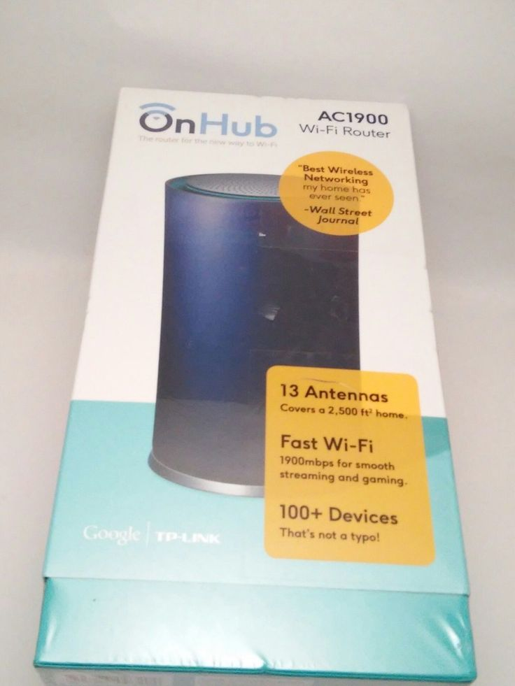 NEW TP-LINK Google OnHub On Hub AC1900 Wireless WiFi Router IOS Android- Sealed