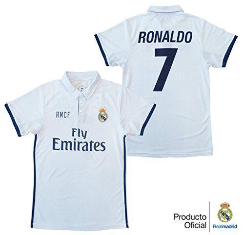 REAL MADRID- Camiseta 1ª Equipación Adulto 2016-2017, Réplica Oficial Cristiano Ronaldo- Talla XXL #camiseta #starwars #marvel #gift