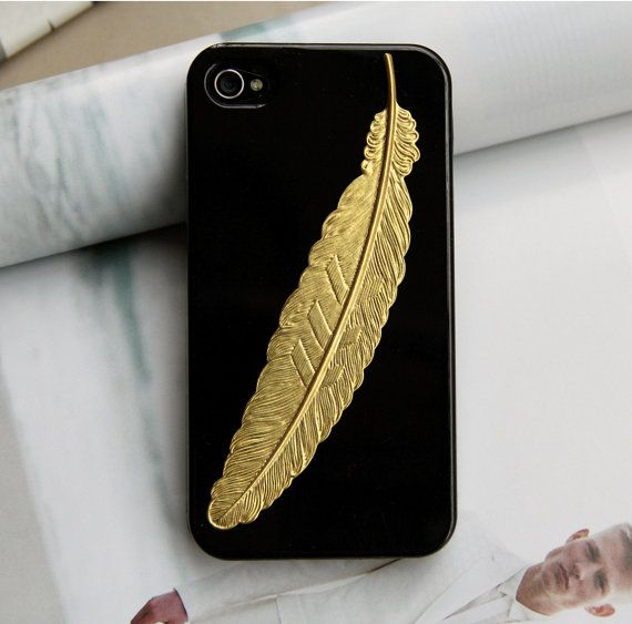 Feather iPhone case.
