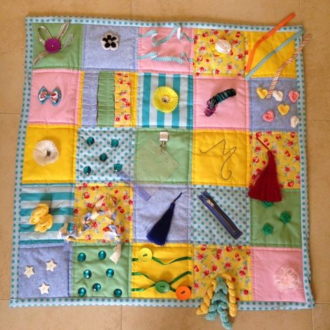 Sharky Knows: Creative Corner: Fidget Quilts