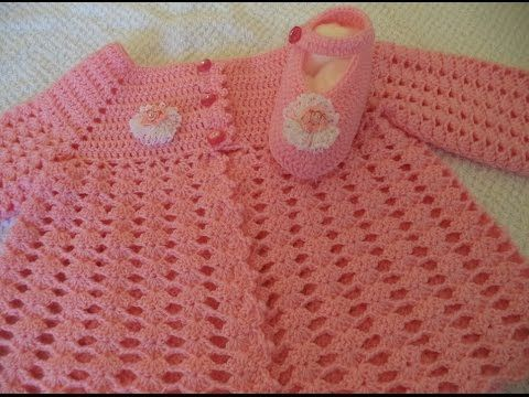 Casaquinho Esperança BB em Crochê - 1ª Parte - Fácil - Graça Tristão