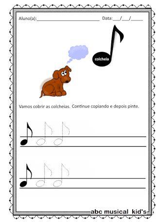Resultado de imagen para atividades de musicalização