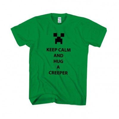 Creeper Minecraft Game T-shirt Apparels | IdolStore