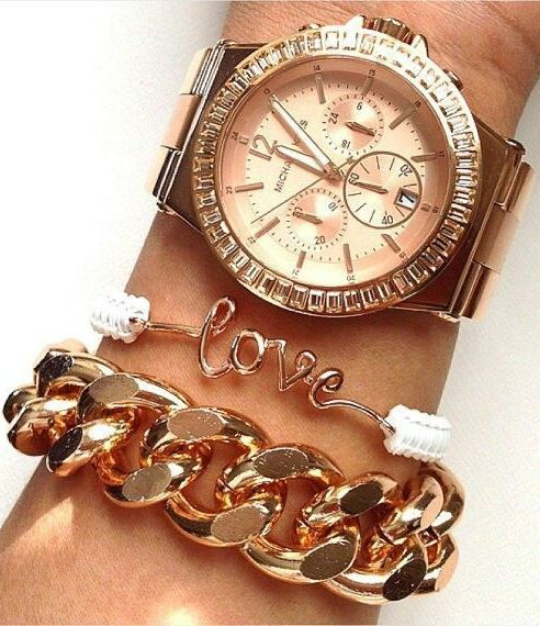 Layered Bling ... L.O.V.E.  ♥