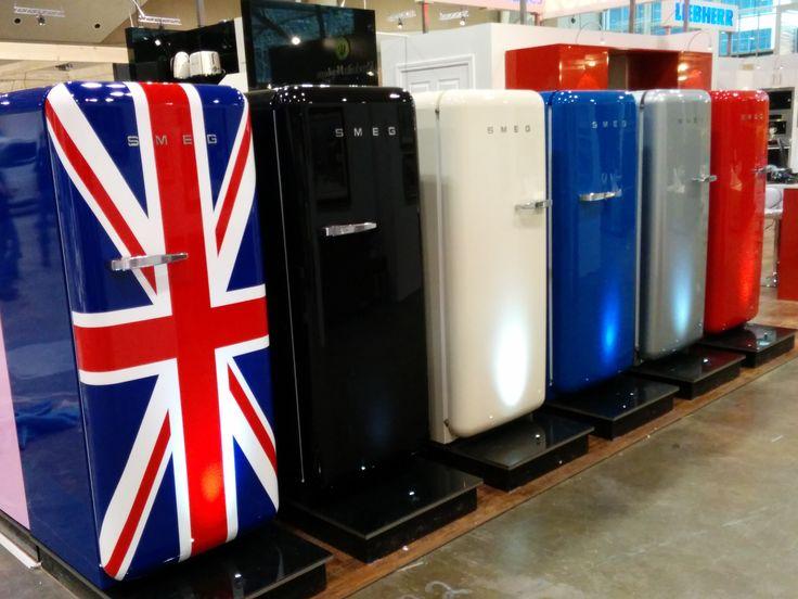 Our #SMEG #fridges were a #big #hit at the #IDS15.