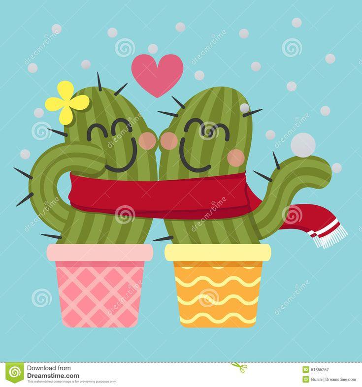 loving-couple-cactus-snow-scarf-51655257.jpg (1300×1390)