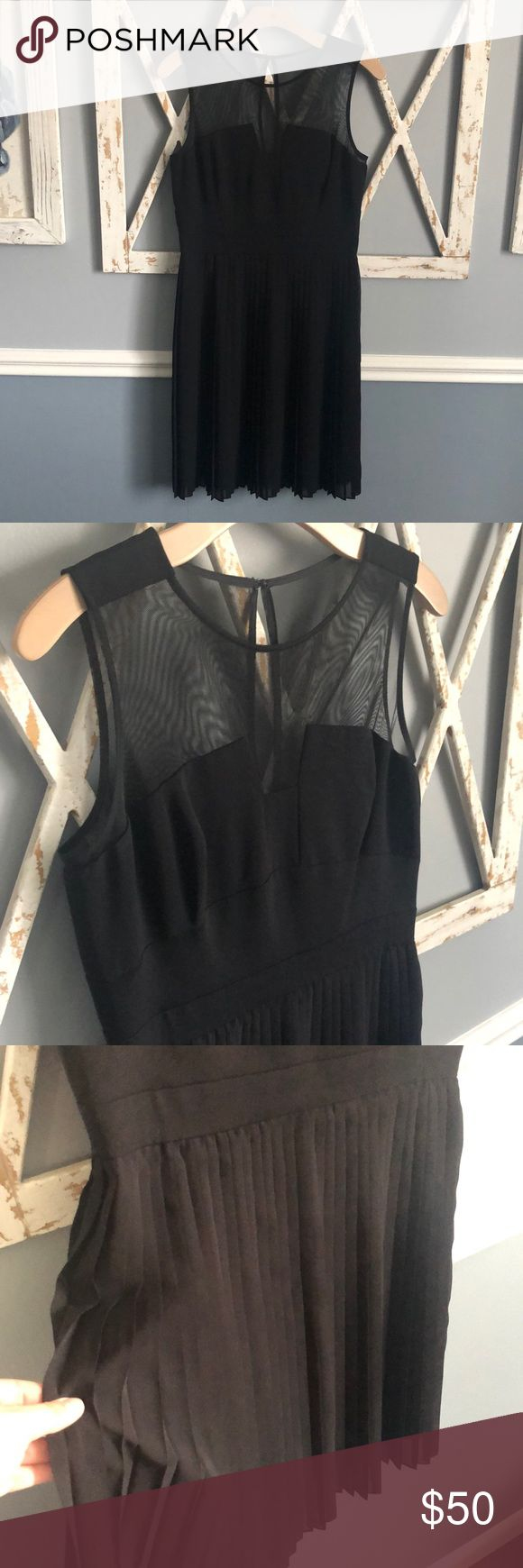 Julia Jordan | Little Black Dress with pleats This dress is sooo pretty! The sim... 13