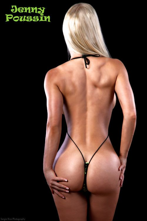 Casually, jenny p sling shot bikini possible