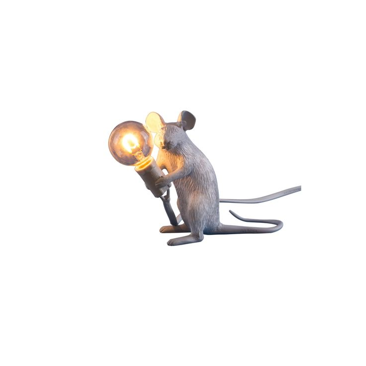 Seletti Lamp Mouse Sitting