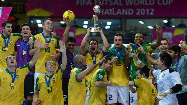 Brasil, pentacampeón del mundo | Copa Mundial de Fútsal de la FIFA  Tahilandia 2012.