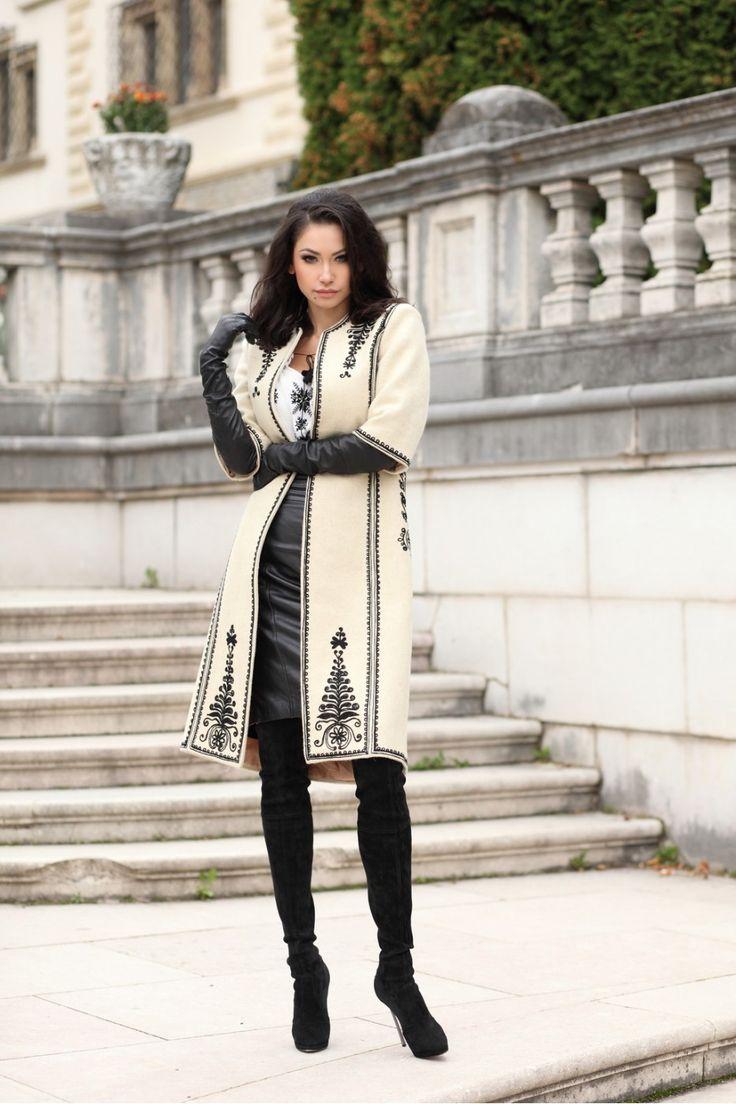 traditional romanian coat