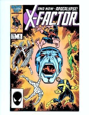 X-Factor # 6 Marvel comics 1st APPEARANCE First App APOCALYPSE X-MEN XFACTOR