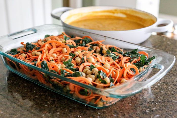 how to make sweet potato noodles with spiralizer