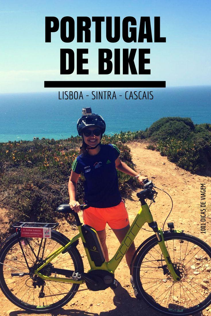 Alugamos uma bicicleta elétrica na Lisboa Autêntica e fomos pedalando de Lisboa até Sintra e Cascais. Vem conferir como foi essa aventura!