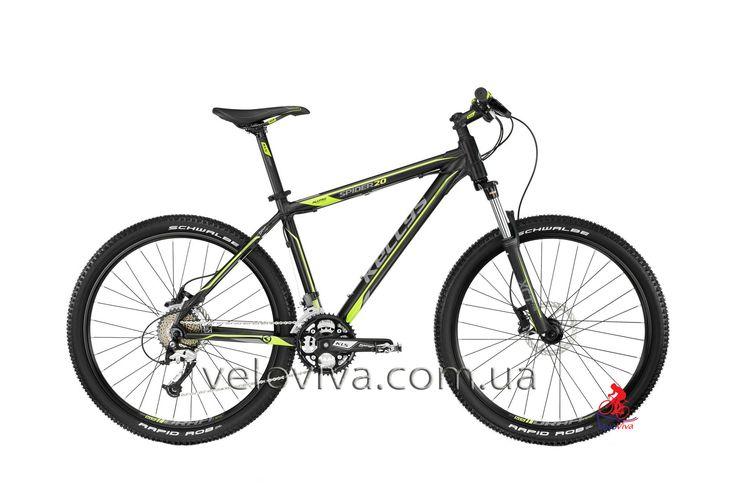 Велосипед Kellys Spider 20 | Киев цена велосипеда Kellys Spider 20 Lime Accent