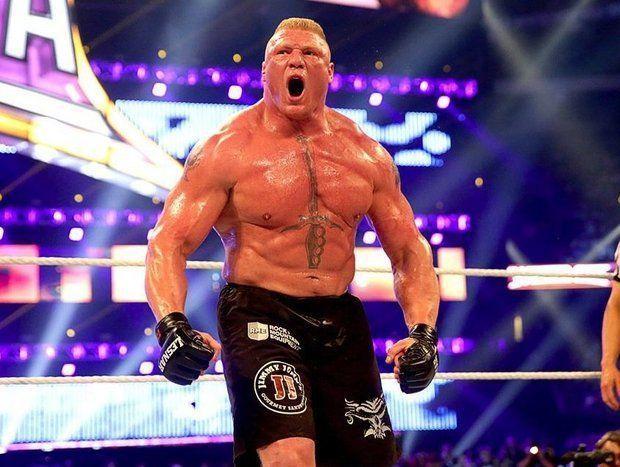 Situación de Brock Lesnar con WWE después de su posible dopaje en UFC