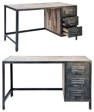 Urban Industrial eclectic desks