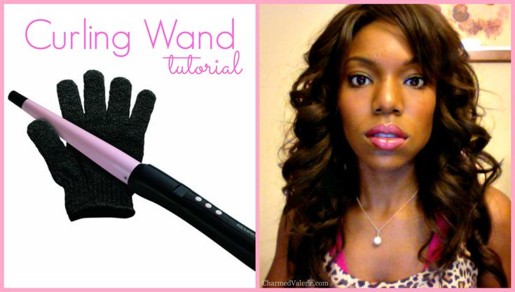 Curling wand tutorial