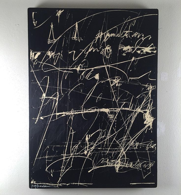 Korey Gulbrandson. Asemic writing
