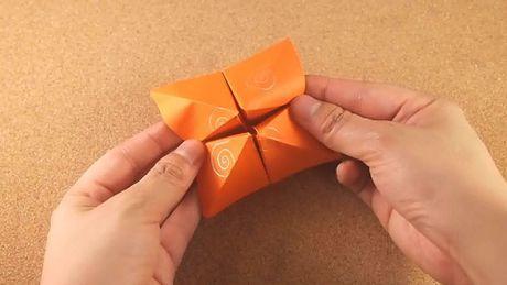 Happertje vouwen #spel #papier #origami #vouwen